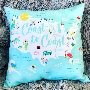Coast to Coast Outdoor Pillow